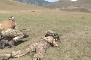 Irish Guards - Sniper Training with U.S. Troops - Aug 03 20
