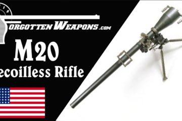 M20 75mm Recoilless Rifle: When the Bazooka Just Won't Cut It