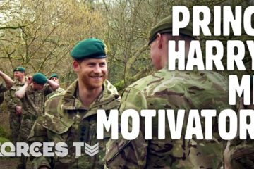 Royal Marines Earn The Green Beret In Front Of Prince Harry