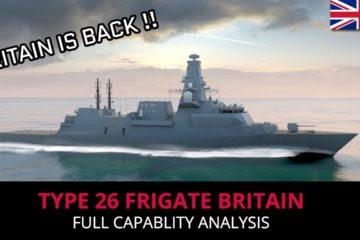 Type 26 - British Frigate
