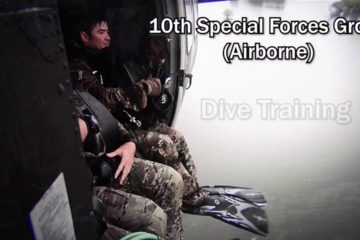 US - 10th Special Forces Group - Airborne Dive Teams Training