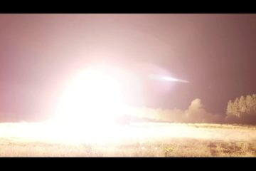 Awesome : US Army - Rocket System - Night Fire in Slow Motion