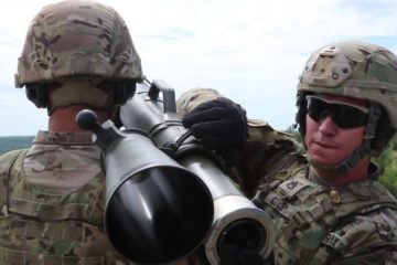 US Paratroopers Firing the M3 Carl Gustaf Recoil-less Rifle