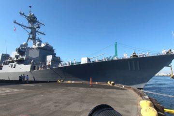 USS Spruance Arrives at Los Angeles Harbor - Aug. 27