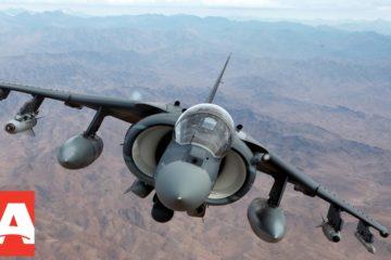 retired Harrier jump jet for sale