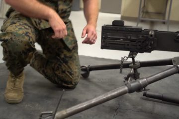 How to Assemble and Disassemble an M2 .50 Cal Machine Gun