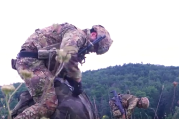 Italian Paratroopers - Exercise Saber Junction 2019