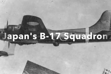 Find out how the Japanese obtained American B-17s and how they used them.