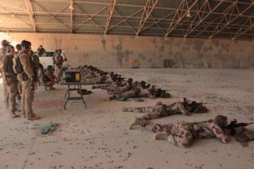 Norwegian Soldiers - Task Force Viking - Rifle Range Iraq