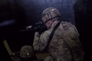 Shoot House - US Soldiers Conduct Room Clearing Training