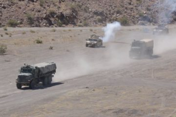 U.S. Marines - Motorized Fire Movement Exercise