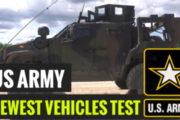13th, 100th Instructors test drive the new Joint Light Tactical Vehicle (JLTV) on the obstacle course in Fort McCoy, Wisconsin