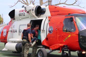 US Coast Guard Conducts Hurricane Dorian Response Efforts
