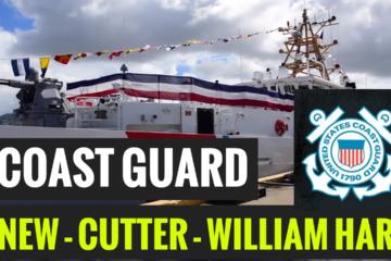 US Coast Guard Commissions New - Cutter