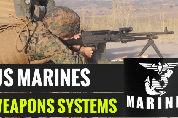 U.S. Marines - Firing Various Weapons Systems