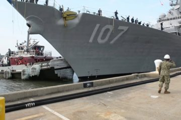 US Navy - Guided Missile Destroyers return to Homeport Norfolk - Sept. 8 - 2019