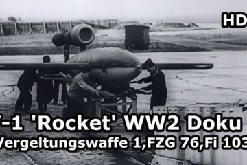 V-1 flying bomb ( doodlebug) & V-2 rocket vengeance weapons . Part 4