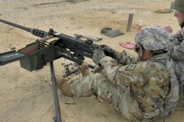 Watch : US Soldiers Fire the M2 Machine Gun