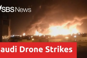 Drone attacks sparked fires at two Saudi Aramco oil facilities on Saturday, the interior ministry said, the latest such assault claimed by Yemeni rebels