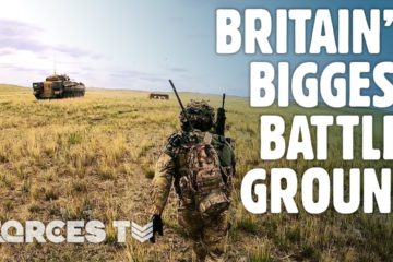 A Look Around Britain's BIGGEST Battleground • BATUS