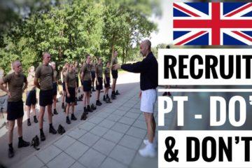 British Army Recruits New Intake | Do's & Don'ts Basic Training