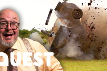 Bruce Explodes A Simulated Tank With An Anti-Tank Gun   Combat Dealers
