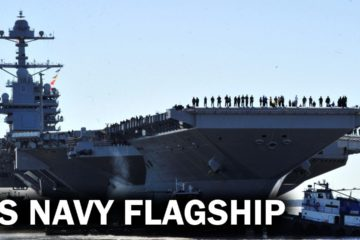 Gerald R. Ford - the New Flagship of the US Navy