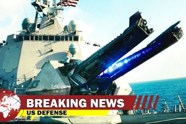 High Alert - The Navy's Going To Test a 'Happy Switch' On its Heavy Hitting Railgun