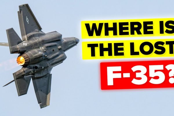 How Did An F-35 Fighter Jet Vanish?