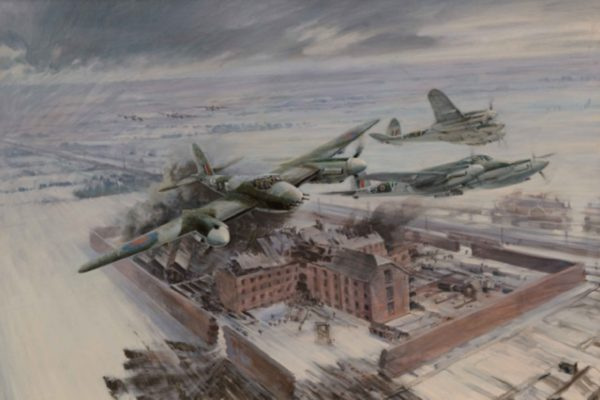 Operation Jericho was a low-level Second World War bombing raid on 18 February 1944,