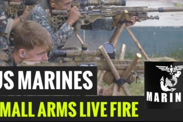 Philippine & United States Marines Conduct Small Arms Live Fire