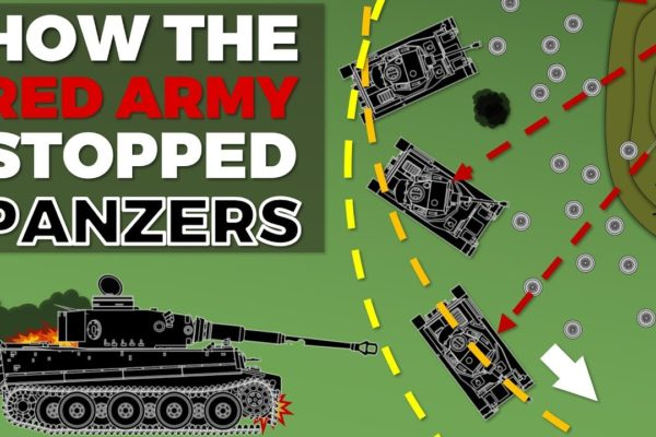 How did the Red Army stop the Wehrmacht at the Battle of Kursk (1943). What were there defensive tactics