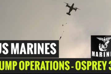 U S Marines & AFP Conduct Jump Operations During Exercise