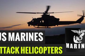U.S. Marine - UH-1Y Huey Attack Helicopter