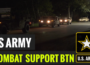 U.S. Army Soldiers from the 18th Combat Sustainment Support Battalion welcome the 2nd Armored Brigade Combat Team, 1st Cavalry Division from Fort Hood, Texas,