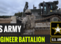 U.S. Soldiers with 902d Engineer Construction Company, 15th Engineer Battalion, 18th Military Police Brigade, conduct engineer training at the 7th Army