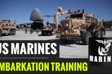 US Marines-Embarkation-Training