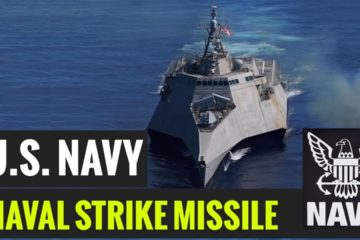 US Navy - USS Gabrielle launches Naval Strike Missile