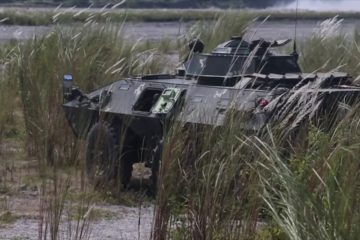 US - Philippine Light Armored Vehicles Provide Fire Support