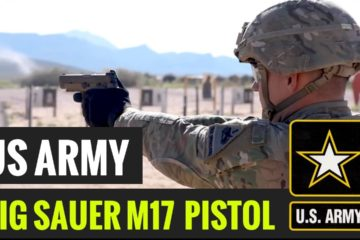 US Soldiers Test New M17 Semi Automatic Pistol