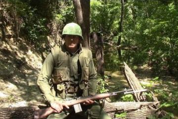 U.S. Marine Vietnam era uniform Camouflage Effectiveness